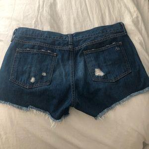 rag & bone Shorts - Rag and bone jean shorts